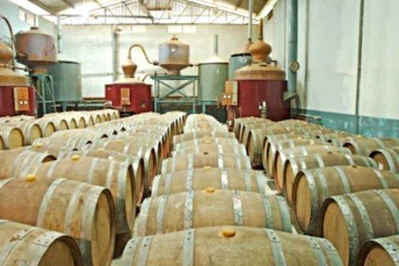 destilaría de whisky