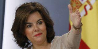 ¡Pillada! El choteo de Soraya mientras Batet habla sobre la nueva política en Cataluña