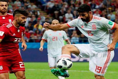 España-Irán: la banda de Isco gana a la banda de los ayatolás con un gol de rebote de Diego Costa