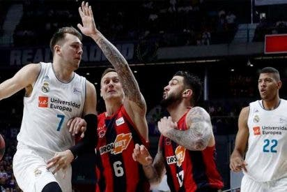 El Real Madrid se levanta de la lona, arrolla al Baskonia y revive la final ACB (98-91)
