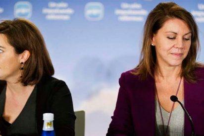 Cospedal y Sáenz de Santamaría se apuntan a la carrera de la sucesión de Rajoy