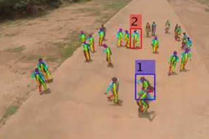 Así son los super drones con IA que identifican peleas