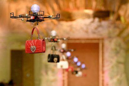 """Estos drones """"dejan en el paro"""" a las modelos"""