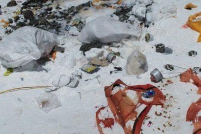 El Everest es el vertedero más alto del mundo tras décadas de alpinismo