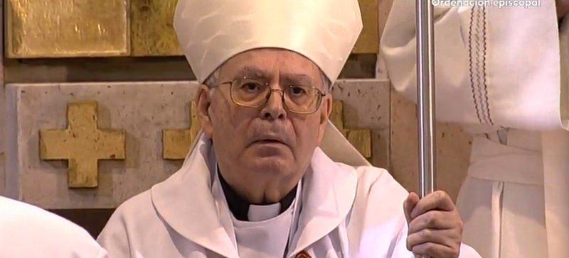 """Cardenal Sebastián, a Aquilino Bocos: """"Como obispo tendrás que ser ante el mundo testigo de Jesús"""""""
