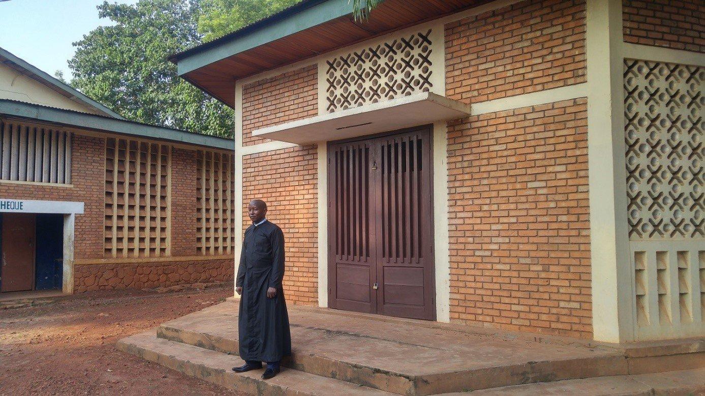 """Ludovic Kpefio: """"Todas las personas que mueren en Centroáfrica son centroafricanas"""""""