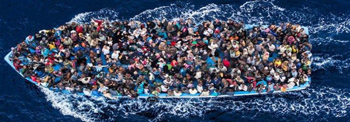 El Papa pide que no se deje a merced de las olas a quien huye del hambre