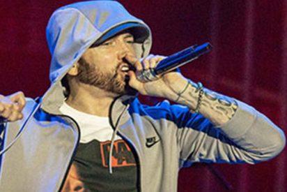 Pánico durante un concierto de Eminem al escucharse unos sonidos parecidos a disparos