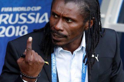 Este gesto del entrenador senegalés en el Mundial 2018 lo peta en las redes