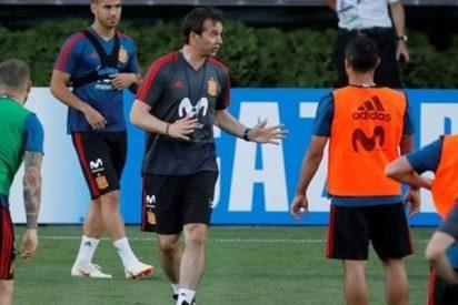 Mira cómo entrena la selección de España para el Mundial
