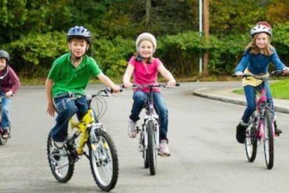 ¿Qué tamaño de bicicletas para niños escoger según la edad?