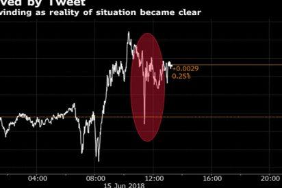 Este tuit falso hizo que el euro se desplomara momentáneamente