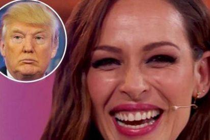 ¿Sabes qué le regaló Trump a Eva González cuando participó en Miss Universo?
