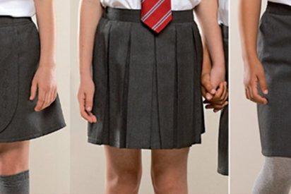Este colegio prohíbe a los niños el uso de pantalones cortos ofreciendo faldas en su lugar