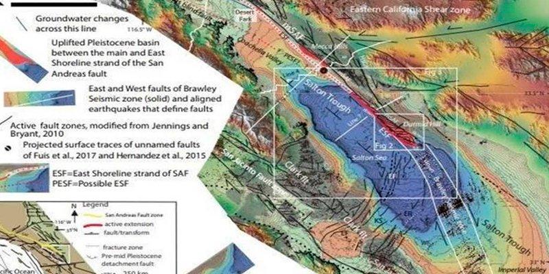 Ya saben dónde será el próximo gran terremoto en la Falla de San Andrés