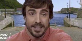 Cachondeo en las redes por este detalle en el anuncio de Fernando Alonso