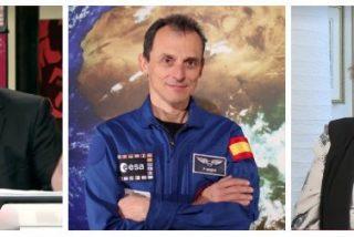 """Cristina Almeida la lía en 'casa' de Ferreras con esta torpe definición de Pedro Duque: """"Le conozco de haber ido a la luna"""""""