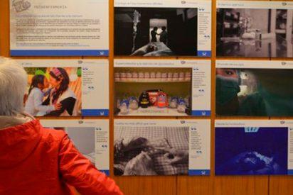 Así es la espectacular exposición de FotoEnfermería en el Hospital Clínico Universitario de Santiago de Compostela