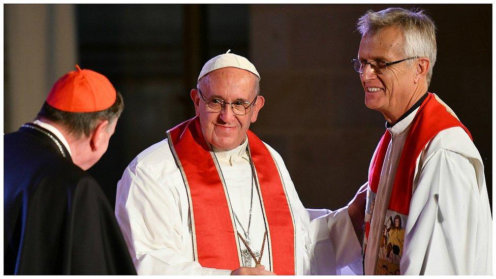 """Francisco, a los luteranos: """"El ecumenismo exige no hacer élites, sino involucrar a todos"""""""