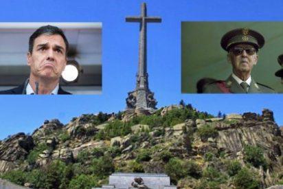 Pedro Sánchez, a falta de ideas, política o proyecto, quiere ahora desenterrar a Francisco Franco