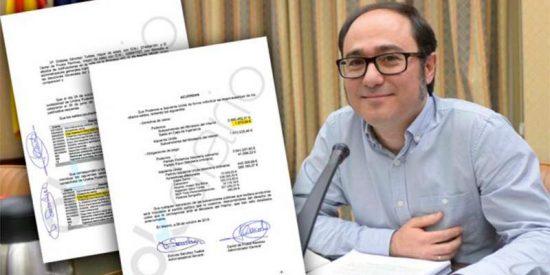 Daniel de Frutos, tesorero de Podemos, se hizo un 'Barcenas' en la compra del chalet de Iglesias y Montero