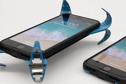 Así es la funda de móvil «activa» que actúa como un airbag para smartphones