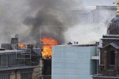 Brutal incendio en la Escuela de Arte de Glasgow