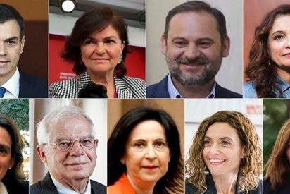Estos son los ministros del Gobierno Sánchez