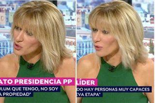 Susanna Griso se quita la careta contra Pablo Casado y le trata de árbitro, de 'apestado' y de corrupto, pero no de candidato