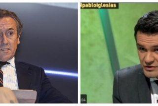 "Tertsch destroza a Iñaki López por minimizar que Sánchez no admitiera preguntas: ""Eres un cubo de babas"""