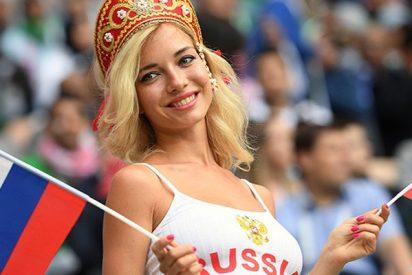 Entrevista a la hincha rusa más sexi del Mundial