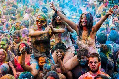 Los colores de la India llegaron a Madrid son HoliMadrid