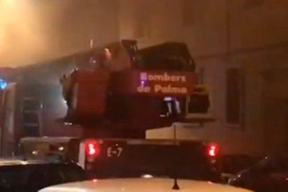 Este incendio en un spa de Mallorca deja un herido y 28 desalojados