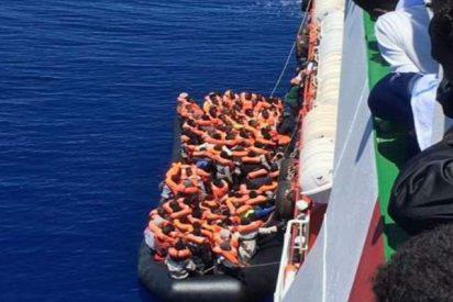 Efecto llamada: Rescatan a 159 inmigrantes más en el mar Mediterráneo