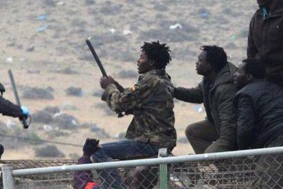 Así tratan de cruzar ilegalmente a España cientos de inmigrantes