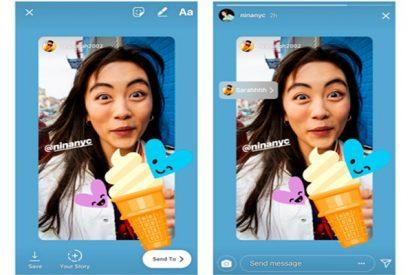Desde ahora podrás compartir las historias en las que te etiqueten en Instagram