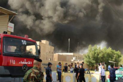 ¡Democracia en llamas!: Incendio quema papeletas en Irak previo a recuento de votos