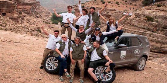 Macarena Gómez y Fonsi Nieto ganadores de la Land Rover Discovery Challenge