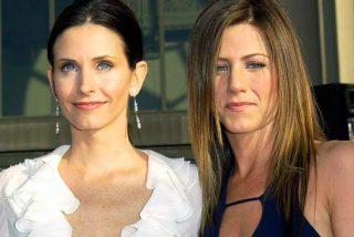 Jennifer Aniston será la dama de honor en la boda de Courteney Cox, su compañera en 'Friends'