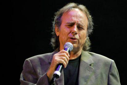 Joan Manuel Serrat da la nota y desafina con una inoportuna visita a los golpistas Junqueras y Romeva