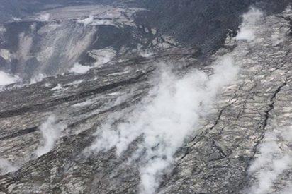 Así son los dramáticos cambios que el cráter del volcán Kilauea ha sufrido tras la erupción
