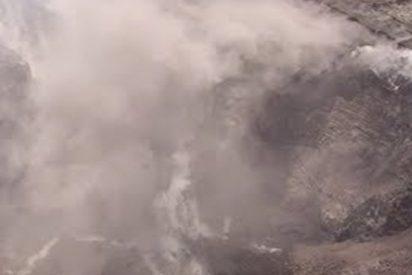 Así se ve el cráter de Kilauea desde un dron tras su erupción