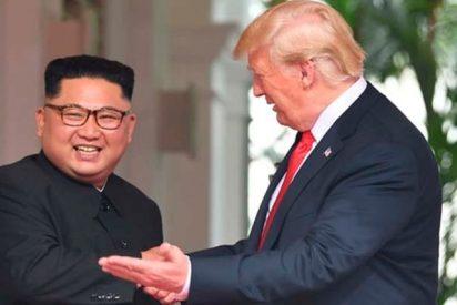 Kim Jong-un reafirma ante Donald Trump en una cumbre histórica su compromiso de desnuclearización