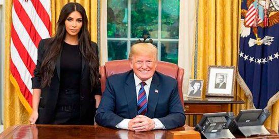 Kim Kardashian seduce a Donald Trump y consigue el indulto para una narco