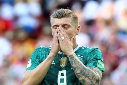 Mundial 2018: Cacharrazo histórico de Alemania que se va humillada a casa