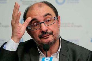 Javier Lambán vuelve a la Presidencia de Aragón tras ser operado del cáncer de colon que sufre