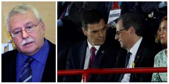 Leguina advierte a Sánchez en un demoledor artículo de las consecuencias que tiene bajarse los pantalones ante Torra