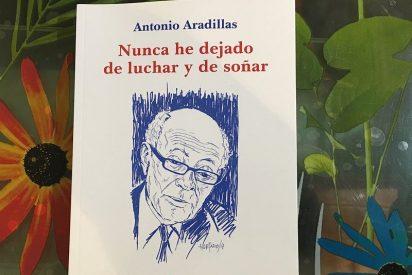 """90 años, 90 libros de Antonio Aradillas: """"Nunca he dejado de luchar y de soñar"""""""