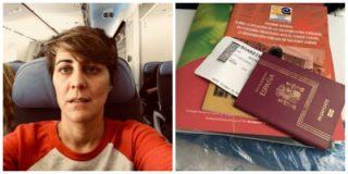 Colombia devuelve a España de una patada en el culo a la nada imparcial Lorena Ruiz-Huerta