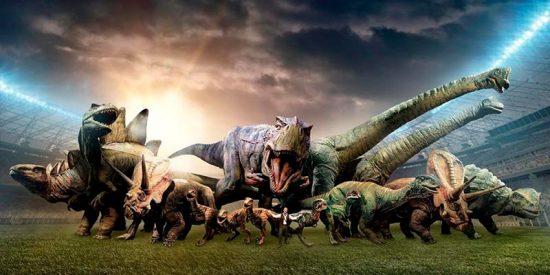 ¿Sabías que los dinosaurios forman su equipo para el Mundial?